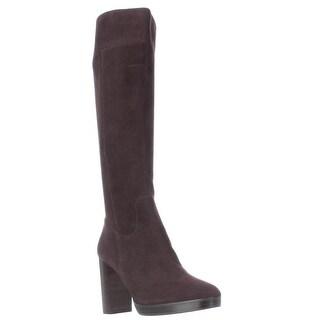 MICHAEL Michael Kors Regina Knee High Platform Boots, Coffee
