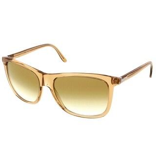 Gucci GG 1042/S 6BA Caramel Wayfarer Sunglasses