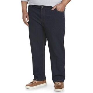Essentials Men's Big & Tall Athletic-Fit Stretch Jean, Rinse 54W x 28L - 54W x 28L