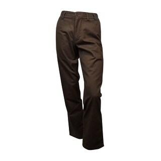 Dockers Men's Field Straight-Fit Pants (Smokey Hazelnut, 31x32) - smokey hazelnut - 31x32