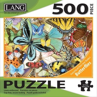 """Jigsaw Puzzle 500 Pieces 24""""X18""""-Butterfly Dreams"""