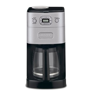 Cuisinart Y67711M Cuisinart DGB-625BC Grind-and-Brew 12-Cup Automatic Coffeemaker Brushed Metal
