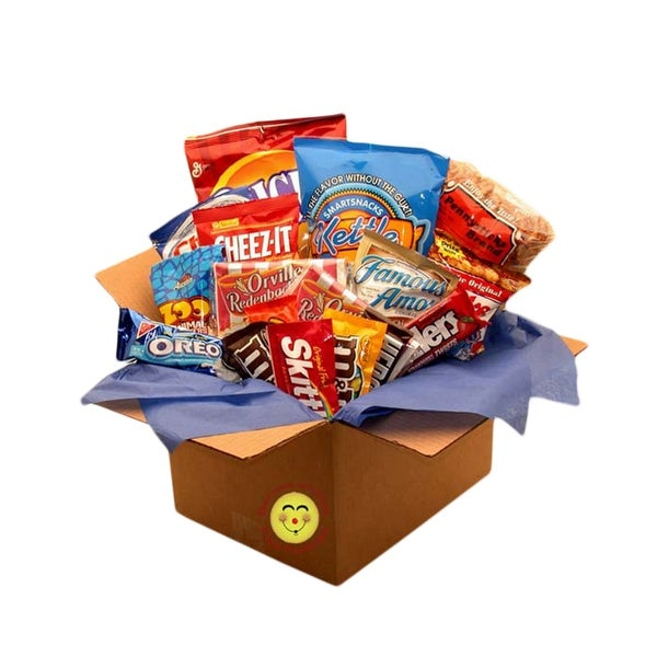 Snackdown Deluxe Snacks Care Package. Opens flyout.