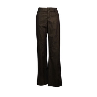 Lee Platinum Women's Mid-Rise Bootcut Pants - Roasted Chestnut - 2M