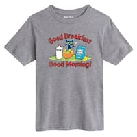 Pete The Cat Bananas On My Cerial Toddler - Youth Short Sleeve Tee