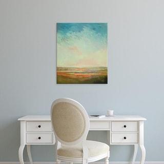 Easy Art Prints William McCarthy's 'A Bit of Orange' Premium Canvas Art