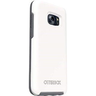 OtterBox Symmetry Series Case for Samsung Galaxy S7 (NOT S7 EDGE) - Non-Retail Packaging - Glacier Gunmetal Grey White