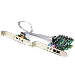Startech.Com 7.1 Channel Sound Card, Pci Express Pexsound7ch