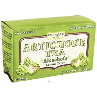 Only Natural Tea Artichoke 20 Bag