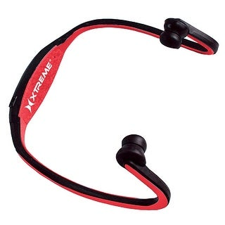 Magnetic Wrap Around Bluetooth Earbuds Red