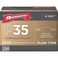 "Arrow Fastener 1/4"" Staple 354 Unit: EACH"