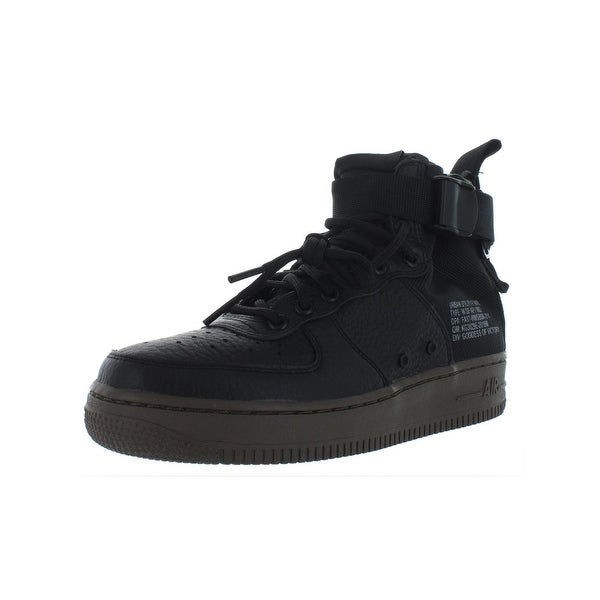 Shop Nike Womens SF AF1 Mid Sneakers High Top Lace Up Free