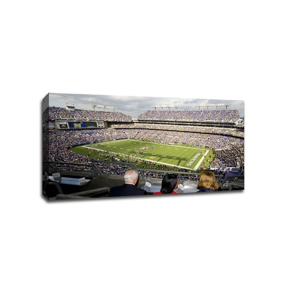 Baltimore - NFL - 40x22 Gallery Wrapped Canvas Wall Art
