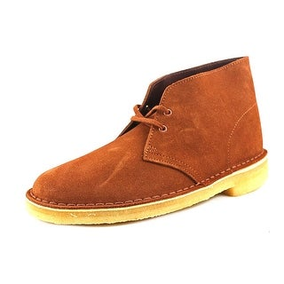 Clarks Originals Desert Boot Men  Round Toe Suede Brown Chukka Boot