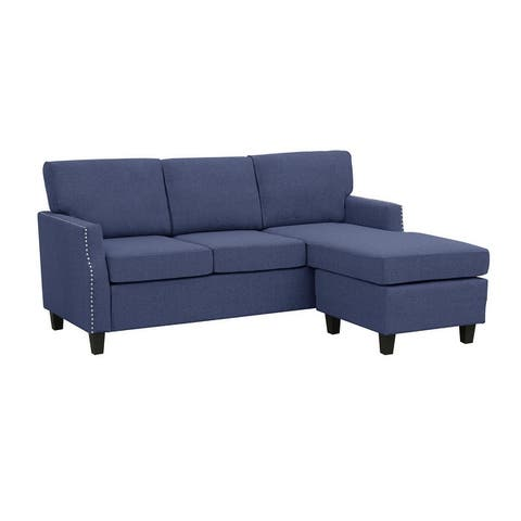 Copper Grove Longford Reversible Upholstered Sectional