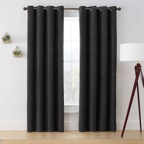 Brookstone Marco 100-Percent Blackout Window Curtain Panel