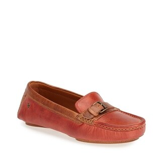 Trask NEW Red Women's Shoes Size 8.5M Kara Leather Loafers