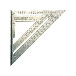 Swanson NA202 Metric Speed Square, Green