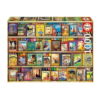 World Travel Guides 1000 Piece Puzzle