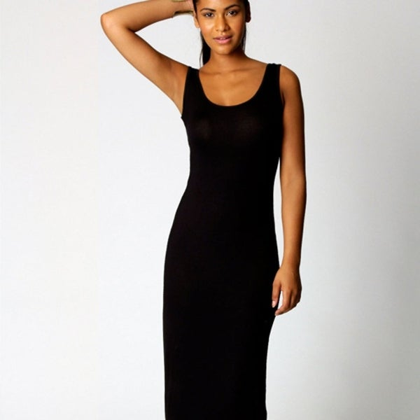 ab82f2137a7 Shop Simple Black Maxi Dress - On Sale - Free Shipping Today - Overstock -  27086201