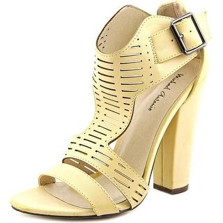 Michael Antonio Knoll Women Open-Toe Synthetic Heels