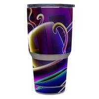 DecalGirl  Yeti Rambler 30 oz Tumbler Skin - Coffee Break