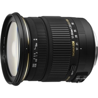 Sigma 17-50mm f/2.8 EX DC OS HSM Zoom Lens for Canon EOS Digital - Black