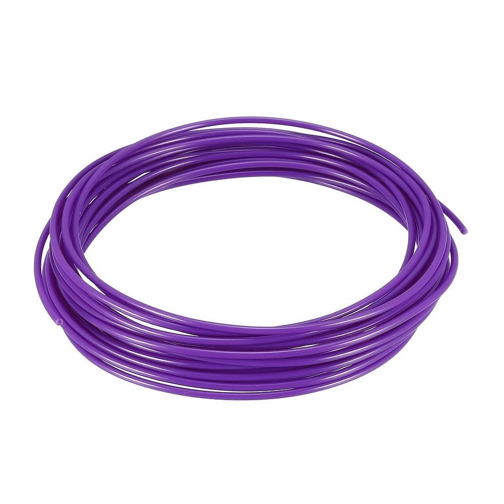 5 Meter/16 Ft PLA 3D Pen/3D Printer Filament, 1.75 mm Purple -  Unique Bargains