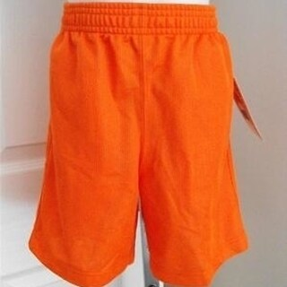 Orange Mesh Collegiate Kids Small (4) Shorts by Dennys 59XS