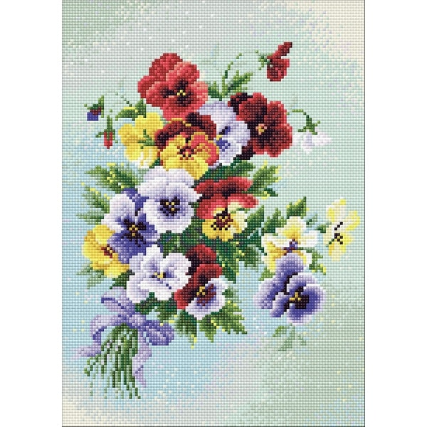 """RIOLIS Counted Cross Stitch Kit 4/""""X4/""""-Garden Strawberry 14 Count"""