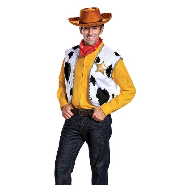 Shop Adult Toy Story Woody Cowboy Costume Kit Overstock 28370193