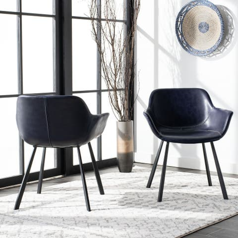 "Safavieh Arlo Mid Century Dining Chair (Set of 2) - 25"" x 23.8"" x 30"""