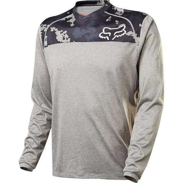 Shop Fox Racing Indicator Prints Long Sleeve Jersey - Gry Cam - 16648 - gry  cam - Free Shipping Today - Overstock - 18680253 d647d4e51