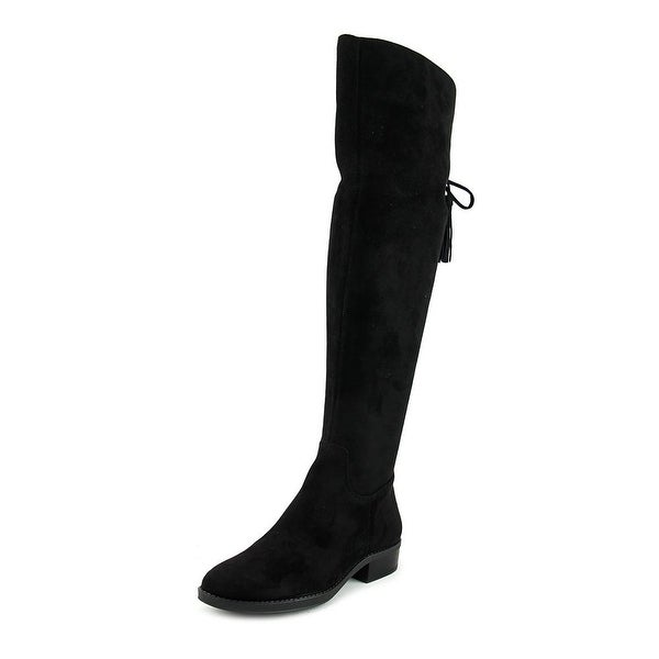 Vince Camuto Prima Round Toe Canvas Knee High Boot