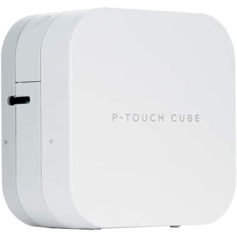 Brother international corporat ptp-300btbu smartphone dedicated label maker with bluetooth wireless technology - White