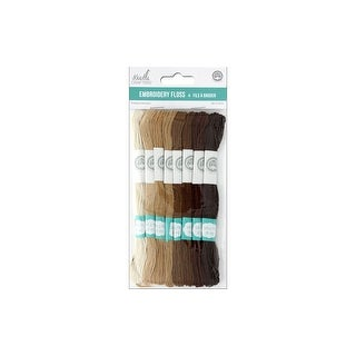 Multicraft Embroidery Floss 6 Strand Ctn Natural