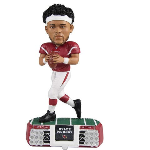 Arizona Cardinals Kyler Murray #1 Stadium Lights NFL Resin Bobblehead - Red