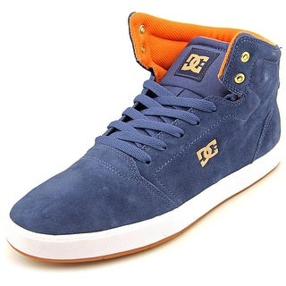 DC Shoes Crisis High Men Round Toe Suede Skate Shoe