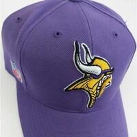 4bf7f7f52b93b0 Shop Minnesota Vikings Mens Size OSFA Purple Adjustable Hat - On ...