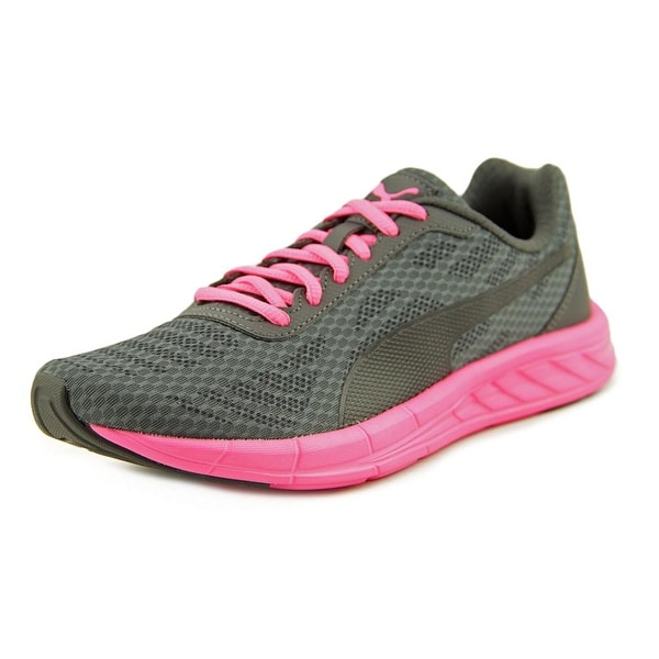 Puma Meteor Women Round Toe Canvas Gray Walking Shoe