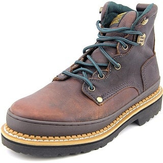 Georgia Georgia Giant Men W Round Toe Leather Work Boot