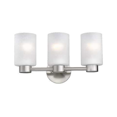 Aea 3 Lights Opal Bathroom Vanity Light Glass Shades - N/A