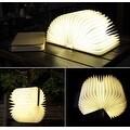 Lumio-Style Luxury LED Folding Book Lamp - Thumbnail 0