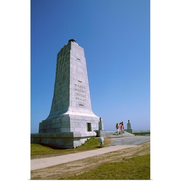 """Wright Brothers National Memorial, Outer Banks, North Carolina"" Poster Print"