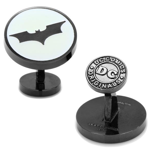 Dark Knight Batman Signal Glow-in-the-Dark Cufflinks