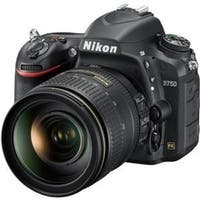 Nikon 1549 D750 24.3 Megapixel Digital SLR Camera with Lens - 24 (Refurbished)