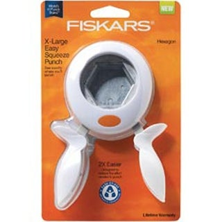 "Hexagon; 2"" - Squeeze Punch X-Large Fiskars"