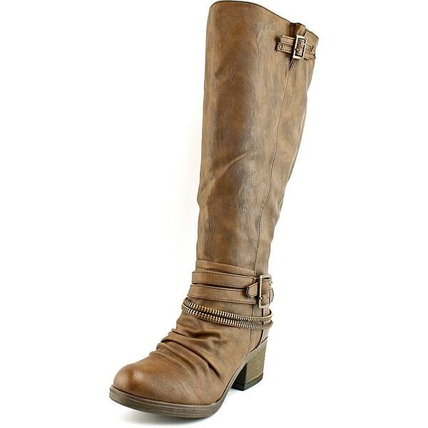 Carlos by Carlos Santana Candace Wide Calf Synthetic Knee High Boot