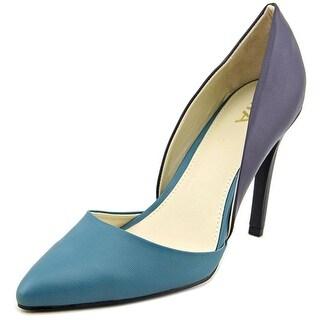 Mia Michele Women Pointed Toe Synthetic Heels