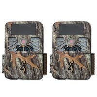 (2) Browning RECON FORCE 4K Trail Game Camera (32MP)   BTC7-4K - Camouflage